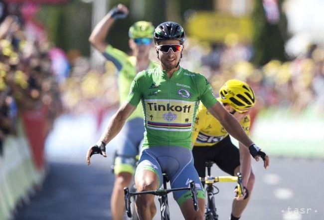 Slovenský cyklista Peter Sagan získal svoje druhé tohtoročné a celkovo šieste etapové víťazstvo na Tour de France. Dvadsaťšesťročný jazdec stajne Tinkoff triumfoval v stredajšej 11. etape z Carcassonne do Montpellier dlhej 162,5 km. Sagan navyše zvýšil náskok na čele poradia bodovacej súťaže a je veľmi blízko k zisku už piateho zeleného dresu v rade.