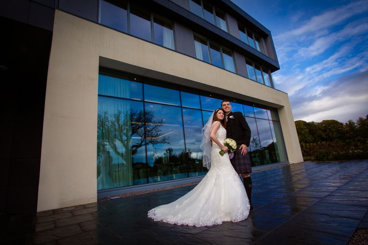 Stunning shot of Lucy and Darren outside the fabulous new ballroom at Meldrum House Hotel. #aberdeenweddingphotographersatmeldrumhousehotel #aberdeenweddingphotographeratmeldrumhousehotel #aberdeenweddingphotographyatmeldrumhousehotel #aberdeenshireweddingphotographeratmeldrumhousehotel #scottishweddingphotographeratmeldrumhousehotel #weddingatmeldrumhousehotel