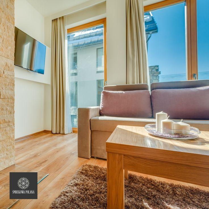 Apartament Świstówka - zapraszamy! #poland #polska #malopolska #zakopane #resort #apartamenty #apartamentos #noclegi #livingroom #salon
