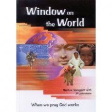 Window on the World: When We Pray God Works is a prayer guide on 100 different countries or people groups. It provides information on the countries and people groups along with full color pictures.