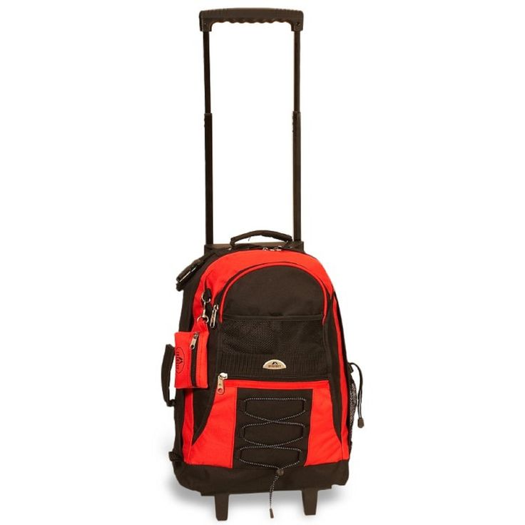 EVEREST DESIGN MEDIUM WHEELED BACKPACK 13.5 x 18 x 6.5 in - CHOICE OF 7 COLORS