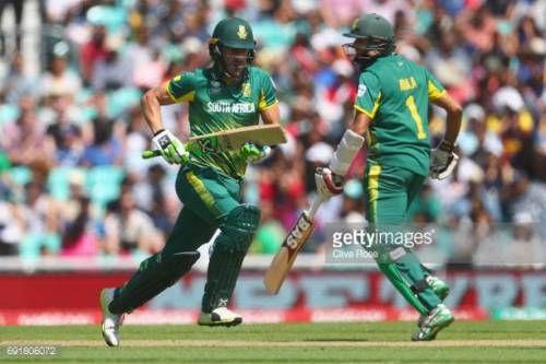 06-26 LONDON, ENGLAND - JUNE 03: Faf du Plessis and Hashim Amla... #irun: 06-26 LONDON, ENGLAND - JUNE 03: Faf du Plessis and Hashim… #irun