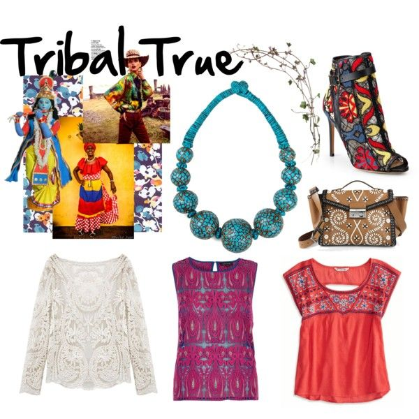 """Tribal True"" by mymagnifico,com on Polyvore."