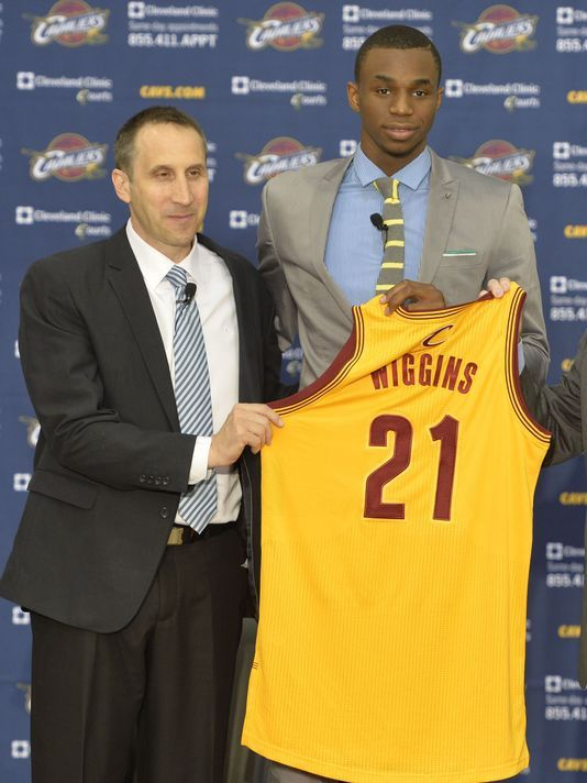 Cavaliers willing to include Andrew Wiggins in Kevin Love trade talks