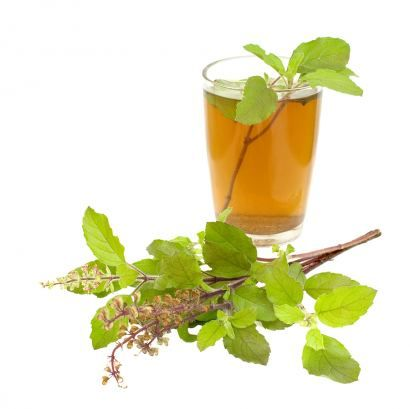 PAINFUL JOINTS - BASIL: drink an infusion (a tea made by pouring boiling water on a handful of basil leaves) twice a day. The eugenol oil in the plant appears to block the effects of an enzyme called cyclo-oxygenase which triggers inflammation and pain.