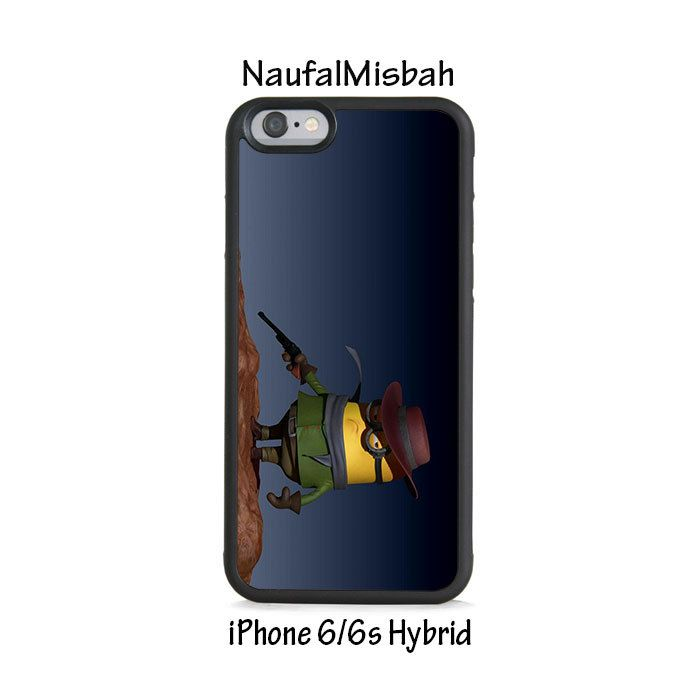 Django Unchained Despicable Me Minion iPhone 6/6s HYBRID Case Cover