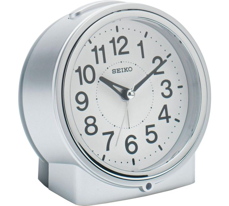 Buy Seiko Sweep Second Hand with Light Alarm Clock at Argos.co.uk, visit Argos.co.uk to shop online for Clocks, Home furnishings, Home and garden