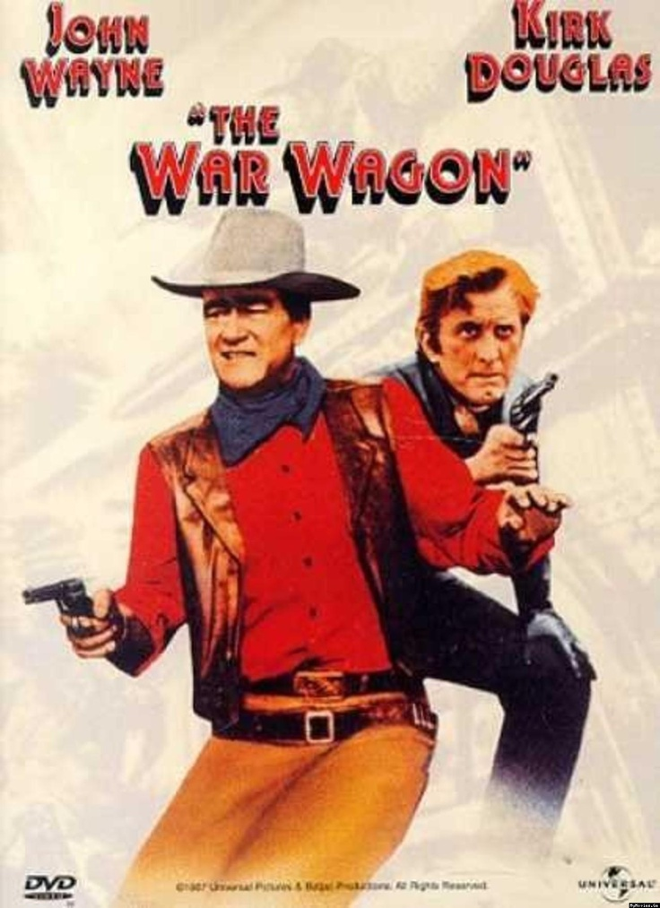 The War Wagon: Movie Posters, Movies, Movie 1967, John Wayne, War Wagon, Wagon Movie, Wagon 1967, Kirk Douglas, Howard Keel
