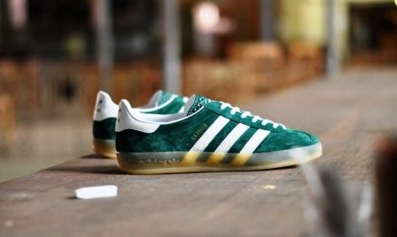 Adidas Gazelle Og Trainers In Forest Green