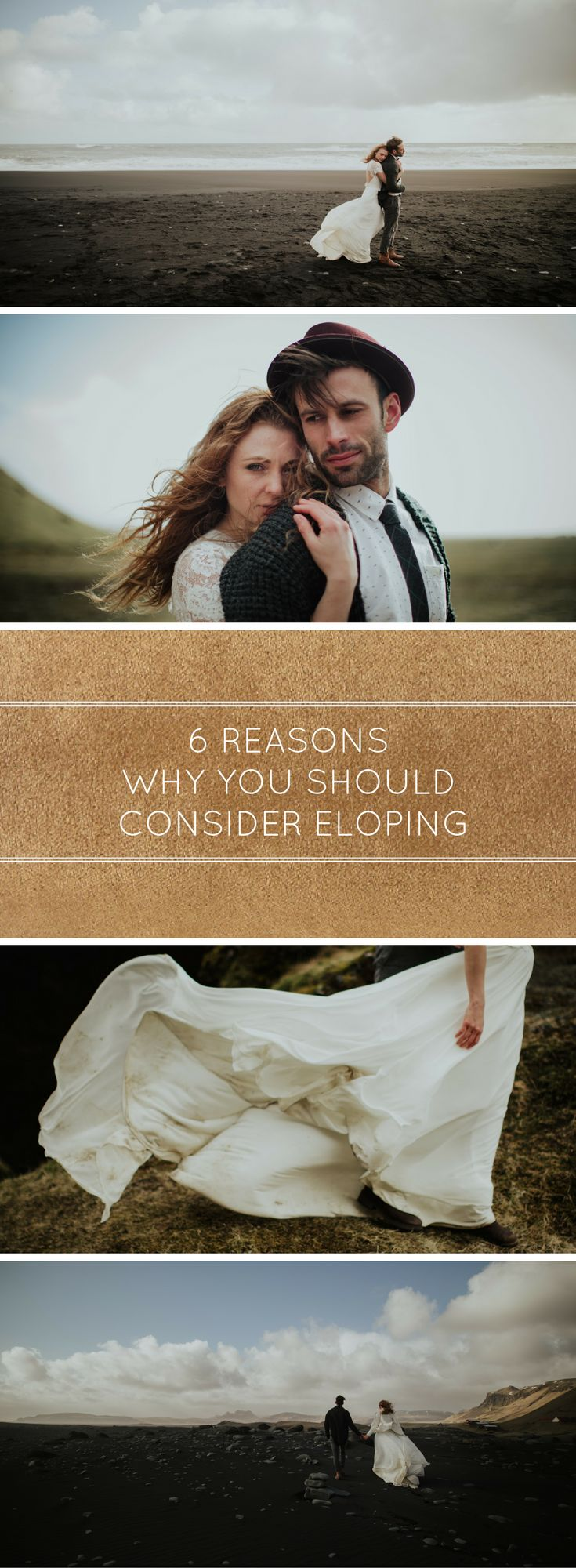 Can't decide if you should elope? Here are 6 reasons why you should consider it.