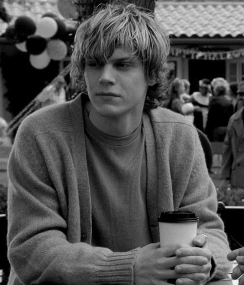 Evan Peters = Miles (flame demon, Jackson's right hand man)