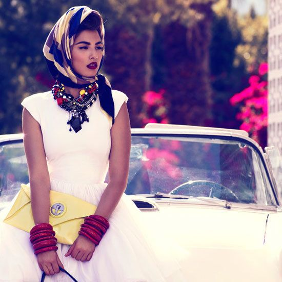 Jessica Gomes Plays the Hollywood Star for Mimco's Retro Inspired Season Two Campaign Shoot