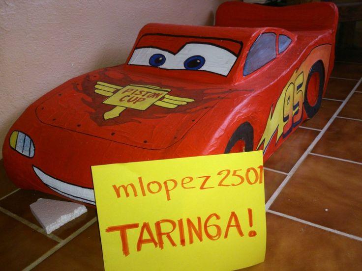Le hice a mi hijo una piñata de Rayo Mcqueen - Taringa!