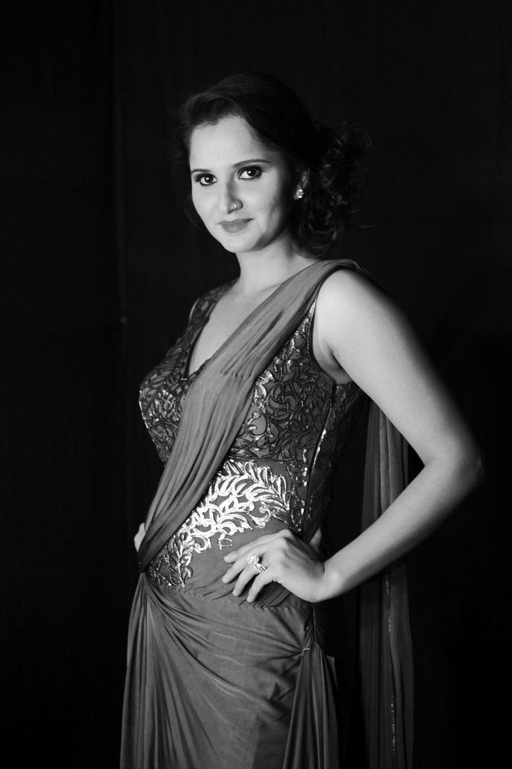 You know her, you love her, you adore her. Sania Mirza is ready to score an ace on the ramp.