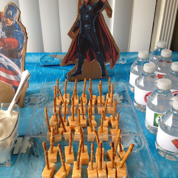 Thor's Hammer Great snack for Super Heroes Party @2 Cookin' Mamas