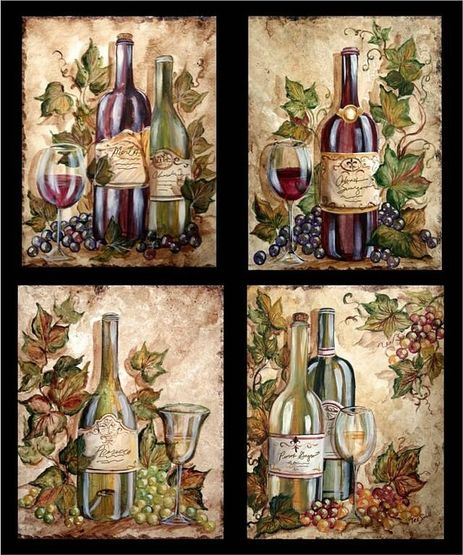 Wine Themed Kitchen Paint Ideas: LAMINAS PARA DECOUPAGE 3