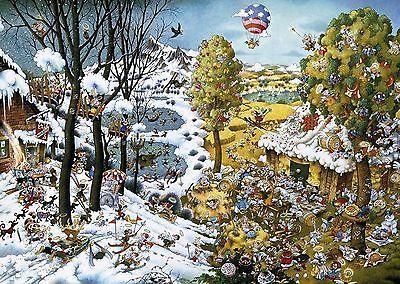 Heye Cartoon Paradise Ryba Puzzles (2000-Piece) • £28.23 - PicClick UK