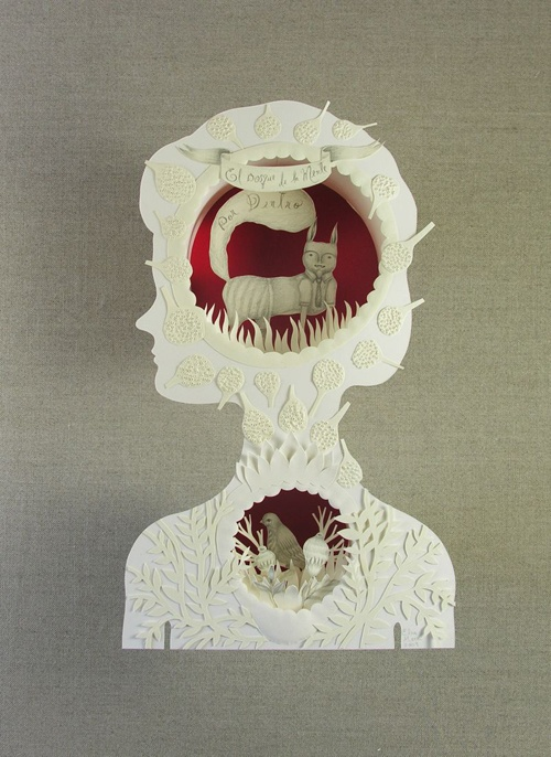 Love, loooove love Elsa Mora´s paper cuts! (with my heart and soul)