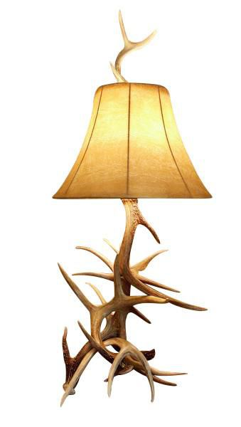 how to make deer antler lamps