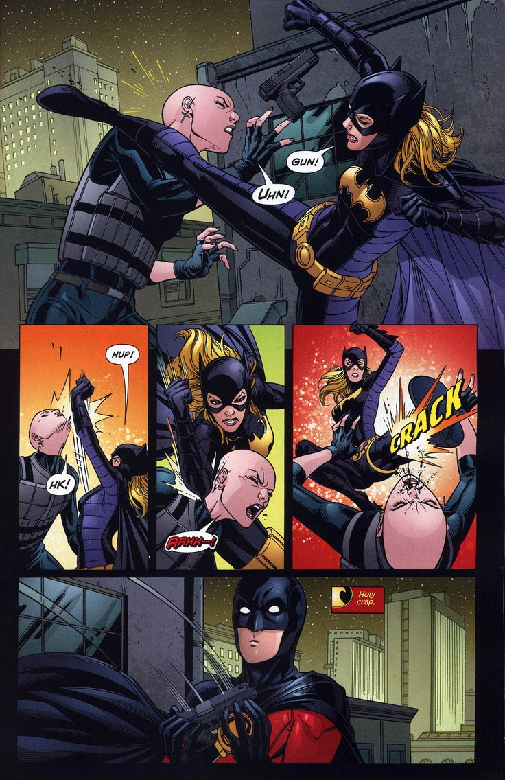Tim Drake (Red Robin) & Stephanie Brown (Batgirl) in Red Robin # 10 - Art by Marcus To, Ray McCarthy, & Guy Major