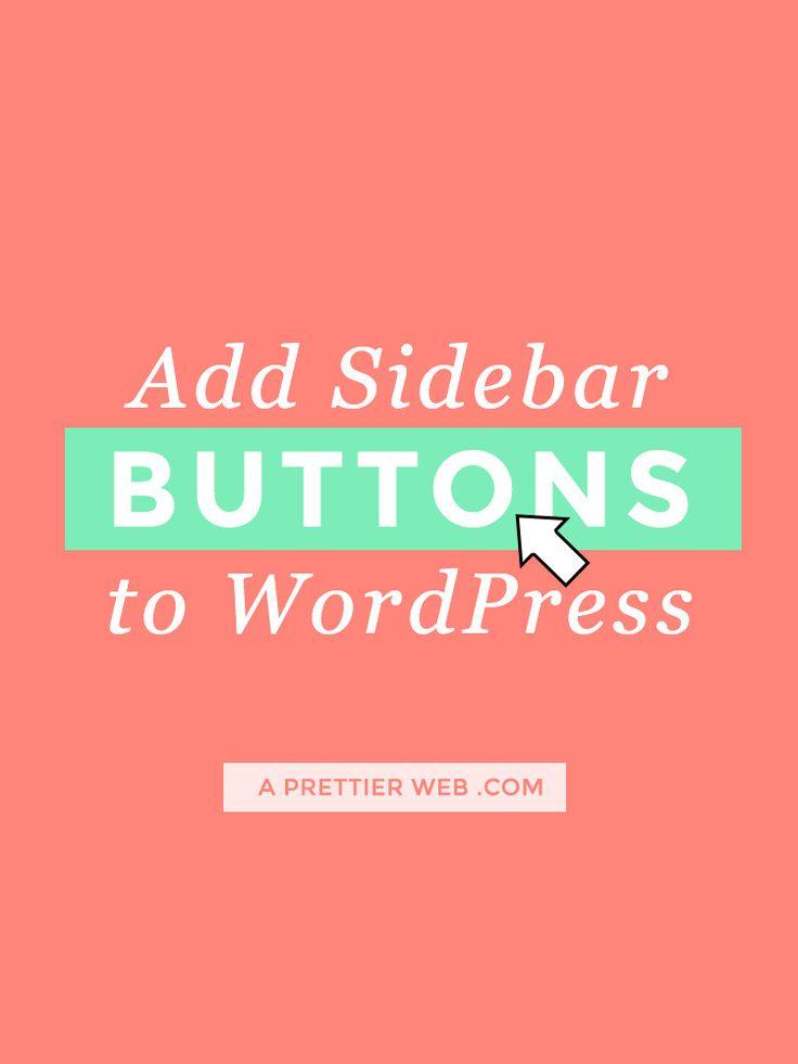 wordpress link pdf in side bar
