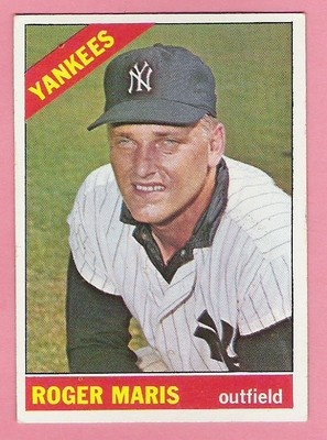 1966 Roger Maris Hall of Fame Vintage Baseball Card Topps 365 | eBay