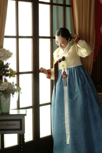 Traditional Hanbok for Women, Korea