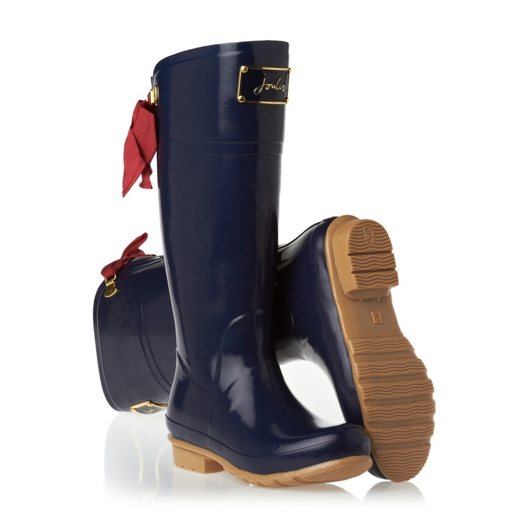 Joules Wellington Boots - Joules O_Evedon Wellington Boots - Navy