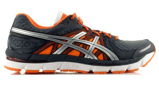awesome orange accented men's running shoes.   Men's Health Best Running Shoes for Men