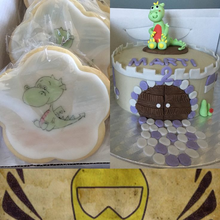 Los dragones son su perdición #lactosefree #dragon #cake#birthday #birthdaycake #cookies