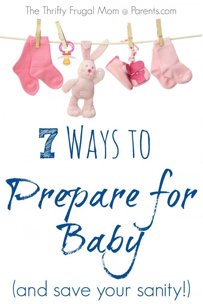 After 4 babies, these are my tried and true tips:  7 Ways to Prepare for Baby (and save your sanity!)