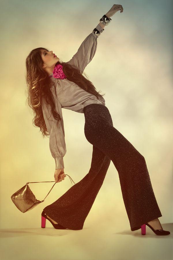 70´s Fashion. by Diana Sandoval, via Behance