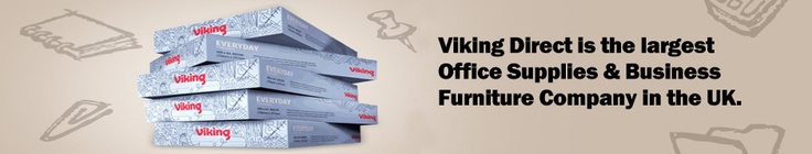 Viking Direct has a tailor made solution for your every solution regarding the office stationery. We provide everything you need in your office according to your need and requirement.