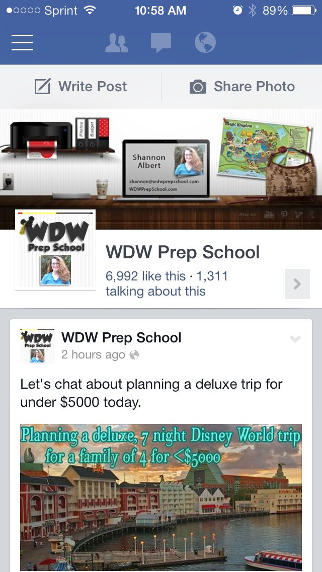 Are you following WDW Prep on Facebook?