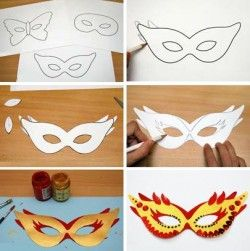 imprimer des masques de carnaval