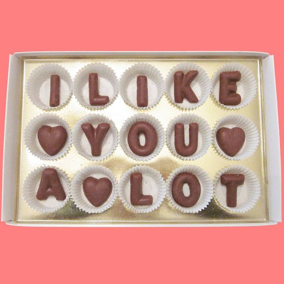 Valentines Day Gift for Men Women Her Him BF GF I by chocolatesays