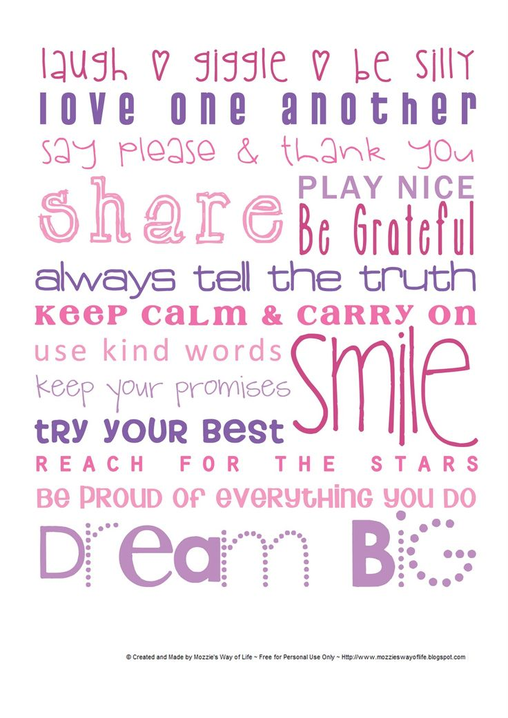 Words to Live By | Publish with Glogster!