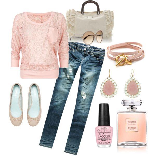 Whispery soft pinks