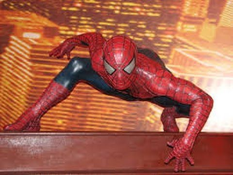 #Amazing #Spider man with Lighting Effects