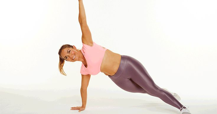Tone and tighten your core with these exercises that will make you feel the burn.