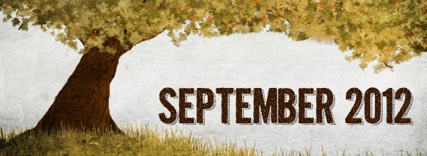September 2012 Calendar Wall Paper and Backgrounds