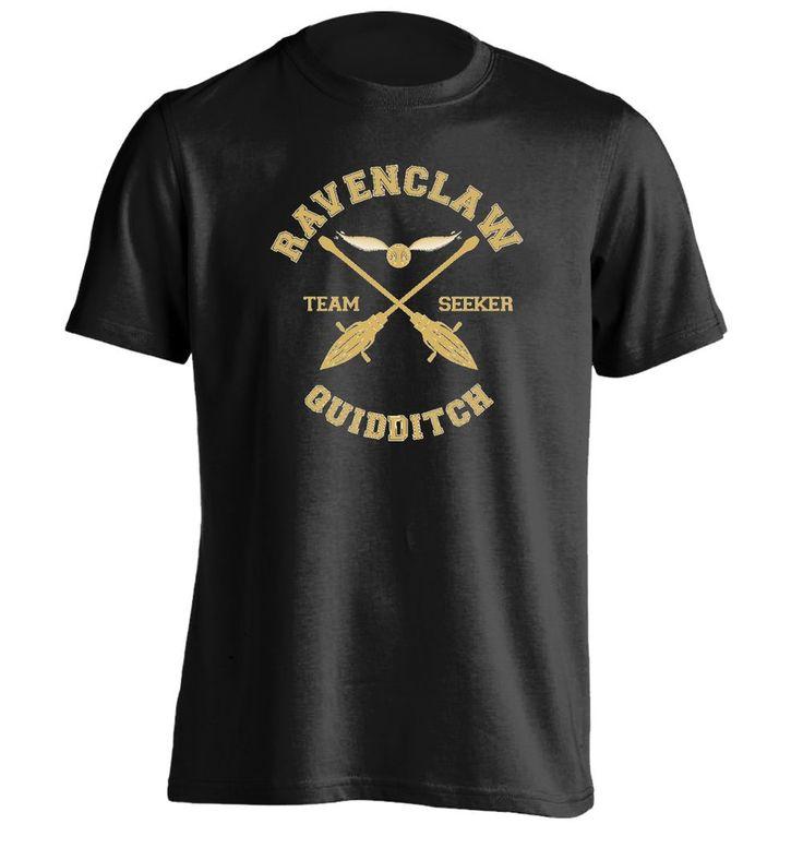 RAVENCLAW - TEAM SEEKER - Mens Personalized T Shirt Printing Tee