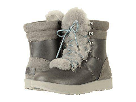 Ugg Viki Waterproof Boots - Metal at