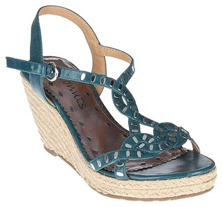 Coconuts by Matisse Turquoise Wedges