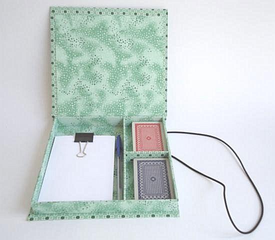 kit cartonagem caixa de baralho