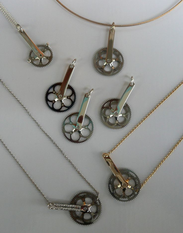 17 Best Images About Bike Themed Jewelry On Pinterest