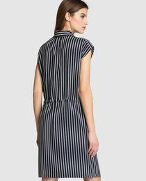 Vestido camisero de mujer Zendra El Corte Inglés con estampado de rayas