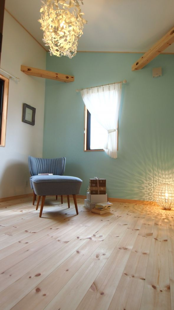 北欧風の部屋