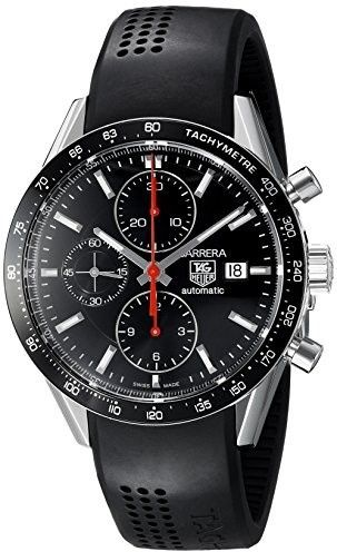 Tag Heuer Men's CV2014.FT6014 Carrera Automatic Chronograph Watch
