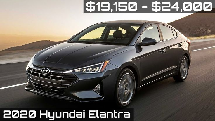 2020 Hyundai ELANTRA Sedan Features and Safety! in 2020